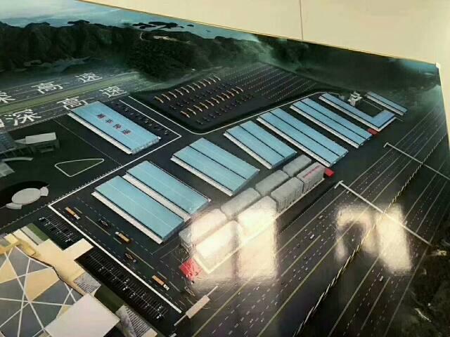 深圳宝安福永机场旁标准物流仓20万平方,可分租,带有卸货平台
