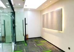 地铁口全新精装办公室出租落地玻璃采光好