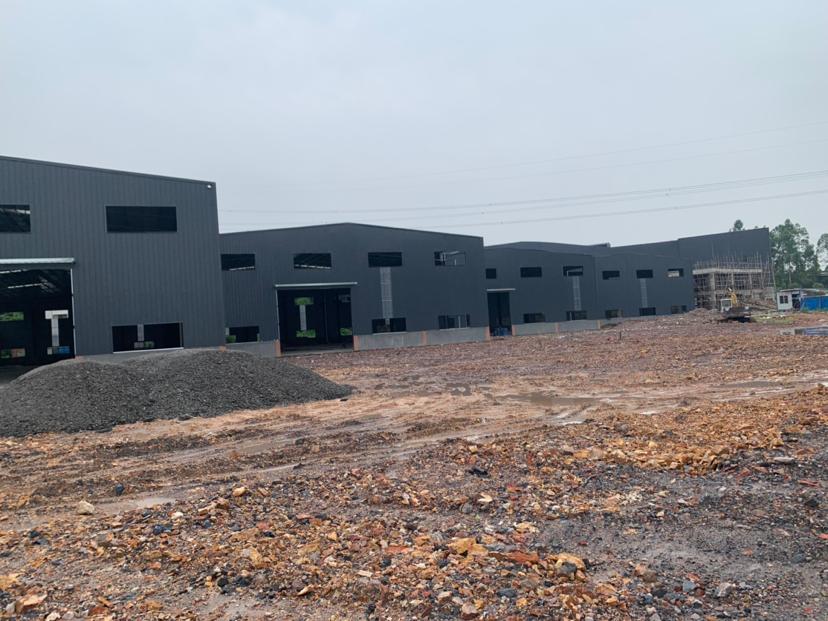 佛山市南海区里水镇10000方新建钢结构滴水十米厂房仓库出租