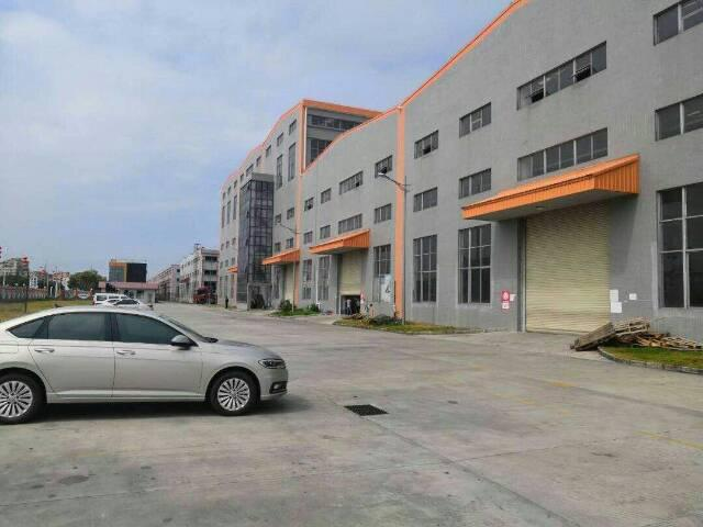 (优质厂房)坪山区坑梓主干道边一楼厂房3100平方有红本