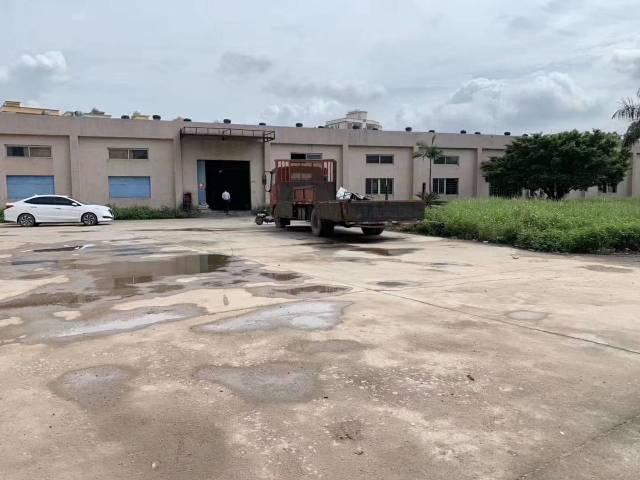 惠城区独门独院全新单层钢构厂房9000平米