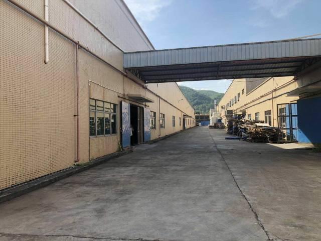 惠州博罗县十万平方单一层独院厂房招租高度11米所有证件齐全