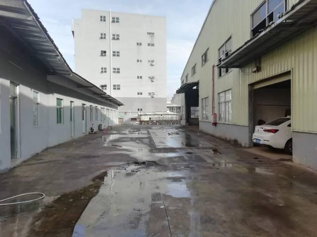 凤岗五联5000平米原房东单一层10米高钢构厂房出租