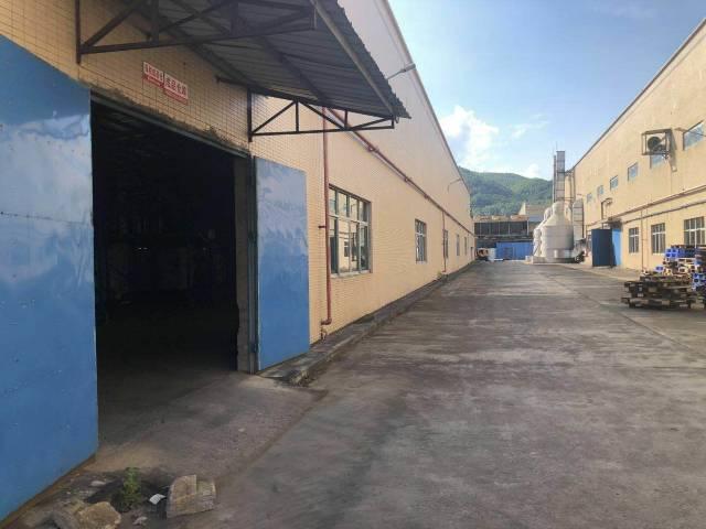惠州博罗县十万平方单一层独院厂房招租高度11米所有证件齐全-图3