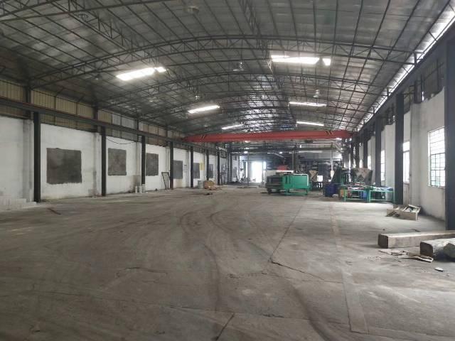 花都狮岭最新超漂亮钢构厂房可办环评电量超大能进货拖