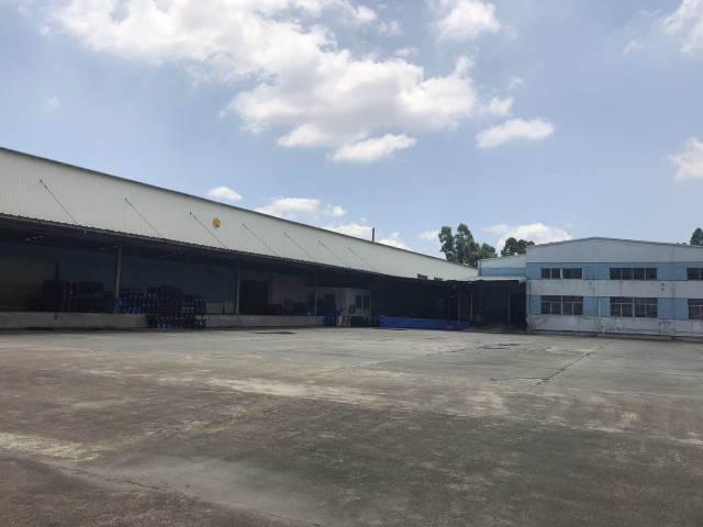 高埗环城路边带缷货平台物流仓库出租23000平可分租可生产