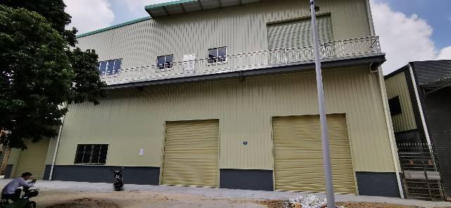 大朗独栋钢构厂房2500平