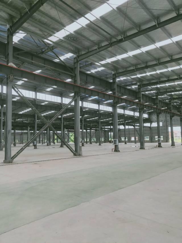 葛店开发区全新厂房可分租有行车空地很大大车进出方便-图6