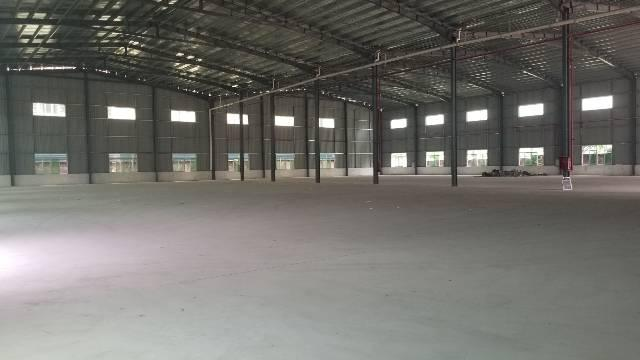常平镇靠大朗独院单一层钢结构厂房