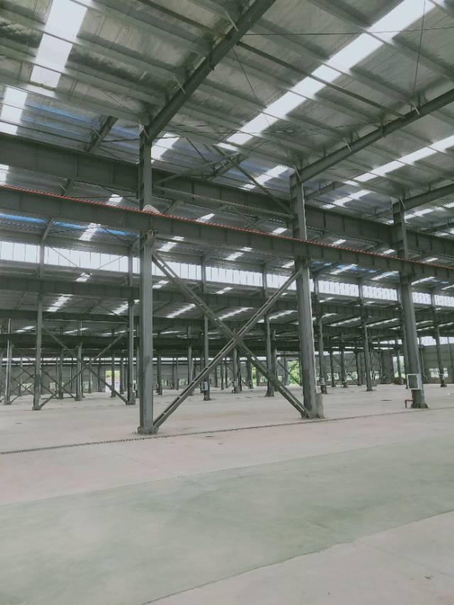 葛店开发区全新厂房可分租有行车空地很大大车进出方便-图8