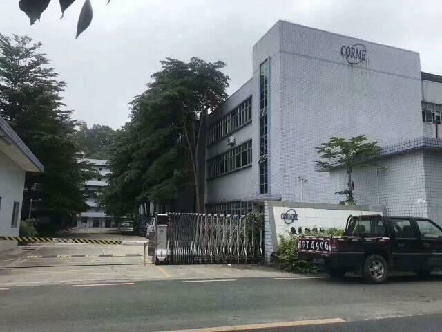公明红本厂房出租合同期长,整栋8400平方,一楼6米高空地大