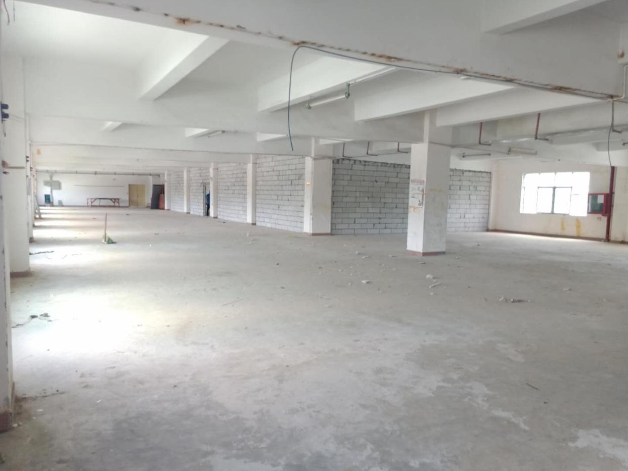 横岗大康3楼1500平厂房原房东直租