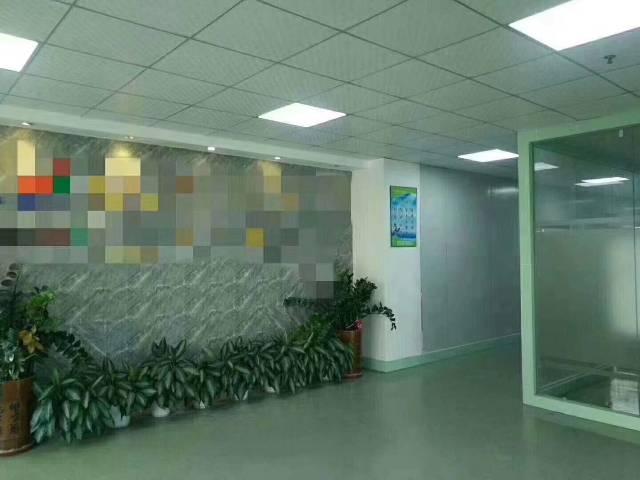 深圳市光明新区塘尾大型工业园区楼上原房东1100平米厂房出租