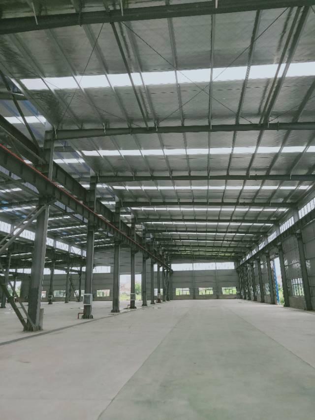 葛店开发区全新厂房可分租有行车空地很大大车进出方便-图3
