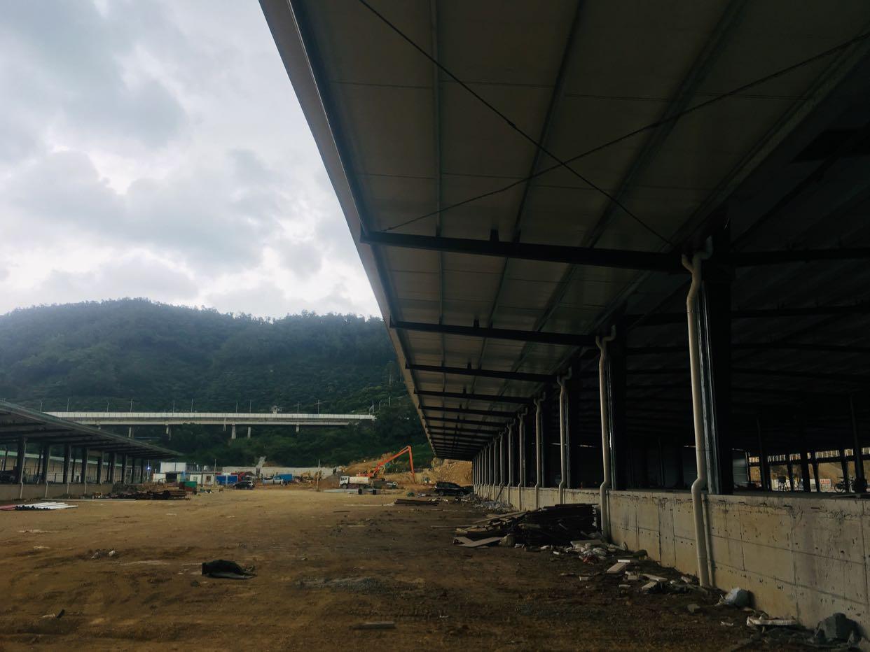 福永107国道旁9米高标准物流仓库出租