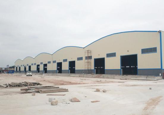 佛山南海工业区6780方钢结构厂房仓库出租可分空地大可进停车