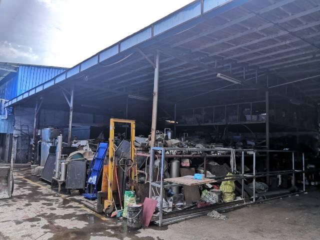 惠东县平山镇500平铁皮房招租可做仓库小加工