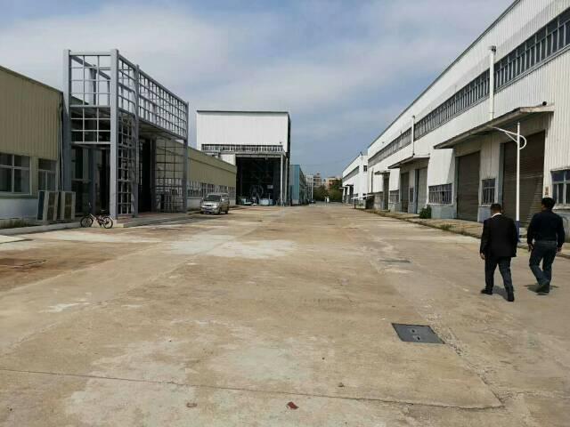 松岗高速出口新出原房东单层12米高钢构厂房4万平米出租可分租