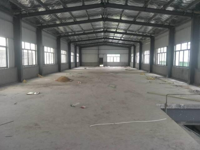 原房东钢构厂房1000平实际面积出租
