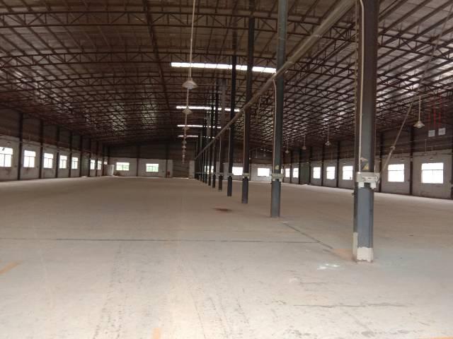 新圩镇原房东独门独户钢构厂房4253平方带环评招租