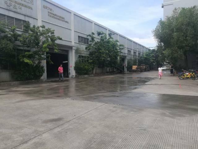 一手房东单一层厂房5560平滴水八米工业用地可办环评
