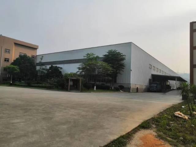 大朗主干道旁工业园单一层独门独院总面积20000平米出租