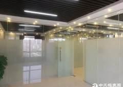 横岗塘坑地铁站现成装修家私办公室280平招租