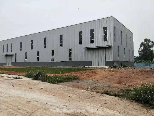新出单一层钢构4800平方厂房出租滴水10米,空地超大