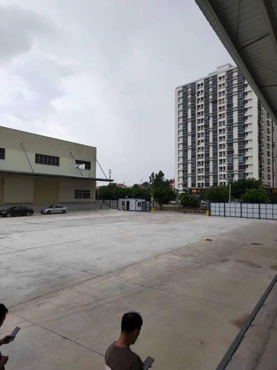佛山市南海区狮山镇原房东钢结构单一层两万七千方高台仓出租