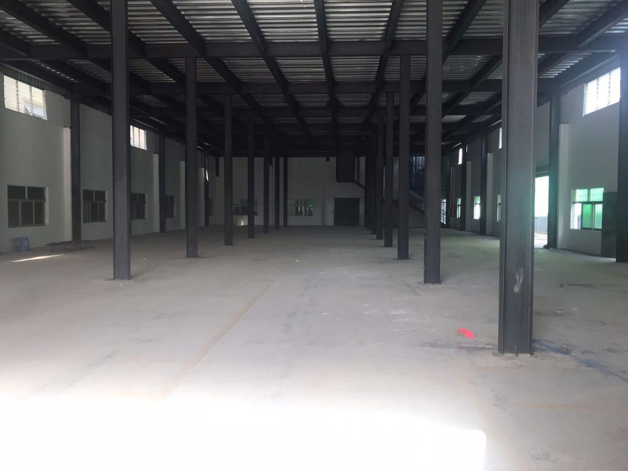 独门独院两层新建钢构厂房适合仓库等行业