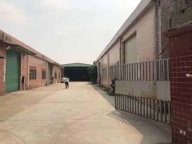 黄江黄牛铺原房东独院钢构可做污染行业8000平方单一层可分租