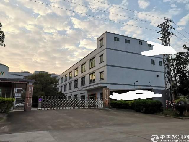 东莞临深片区小面积独院国有双证厂房急售