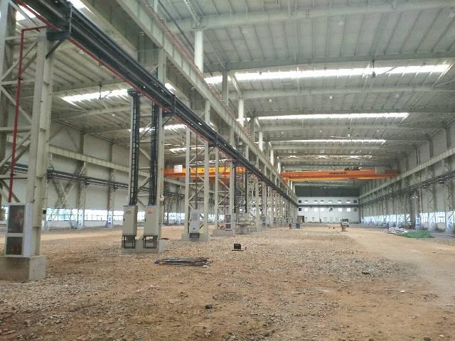 武汉全新央企特重工业厂房带150吨航车出租