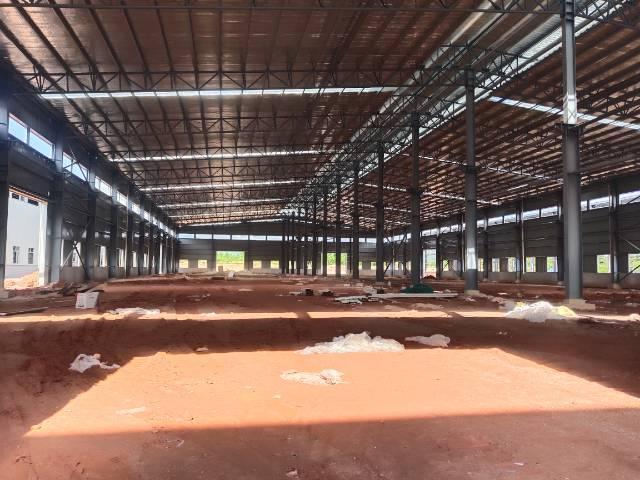 广东省江门市原房东红本工业用地单一层钢构厂房招租
