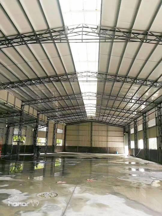 原房东单一层钢构独院厂房,厂房面积5600平方
