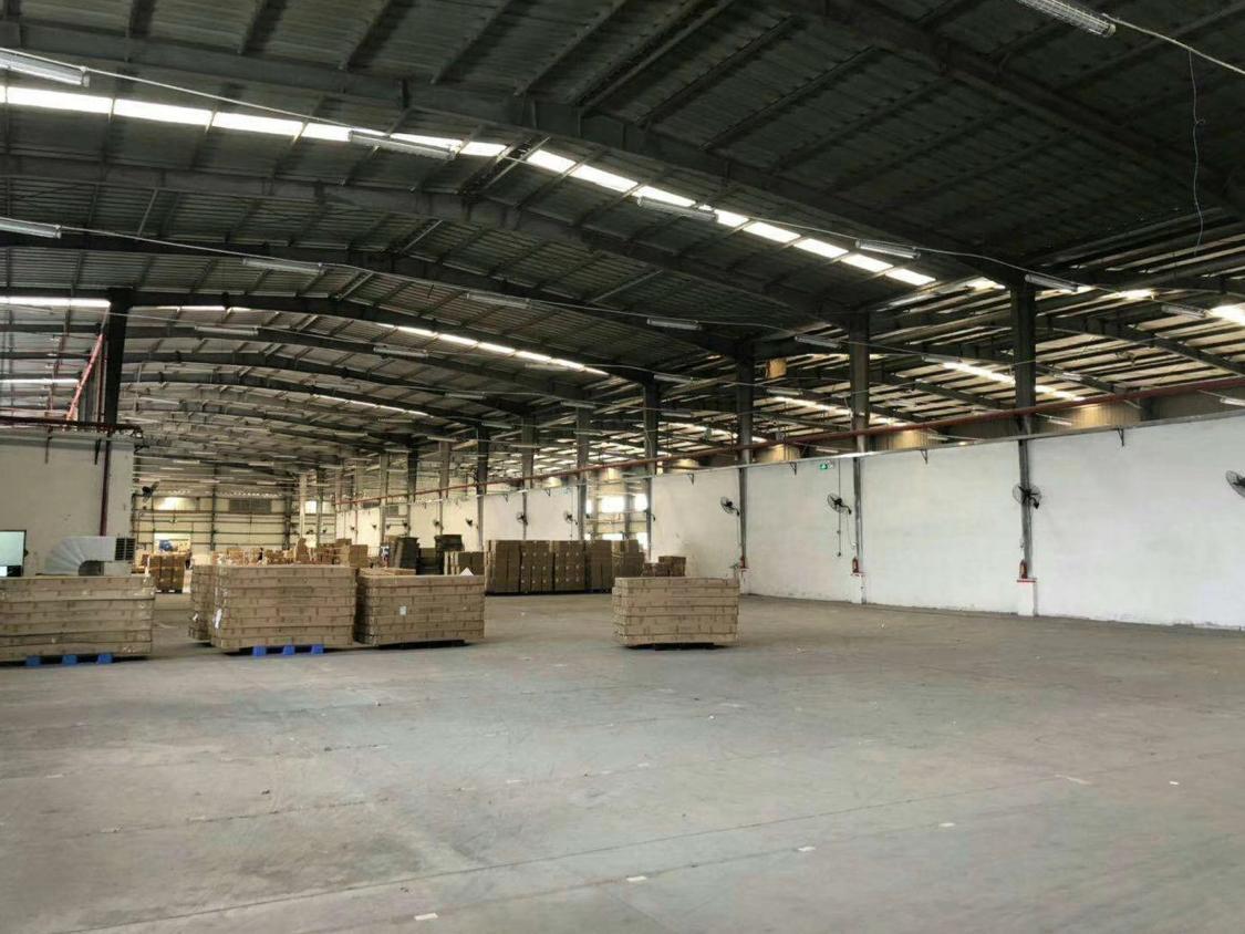 中堂镇钢结构厂房出租面积1600平方价格15