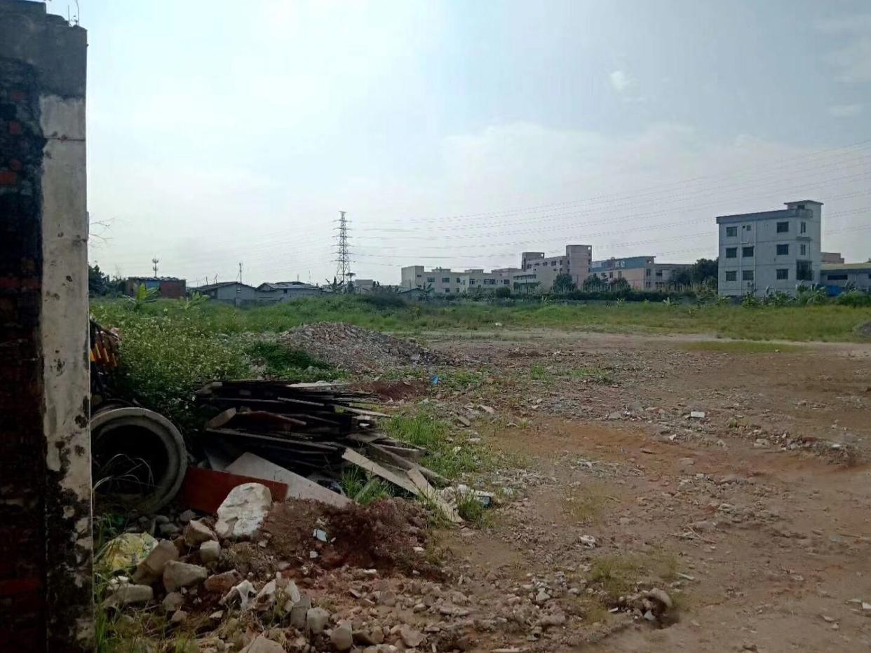 南京某工业区待建钢构厂房