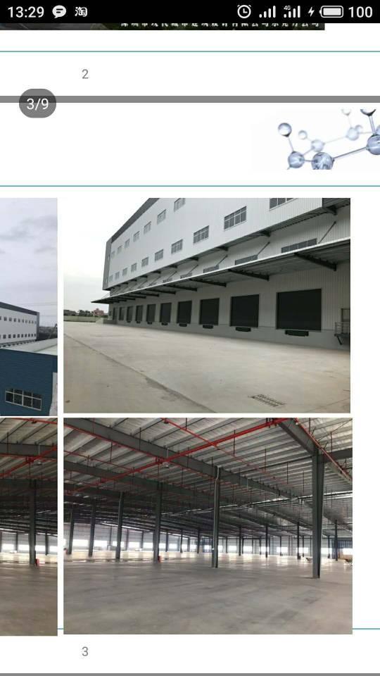 中堂新出独门独院单一层钢结构仓库