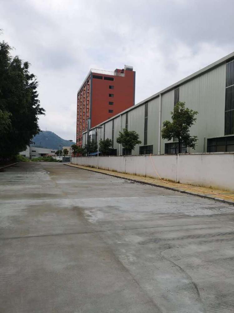 惠州大亚湾原房东钢构厂房3660平,现成水电带装修滴水12米