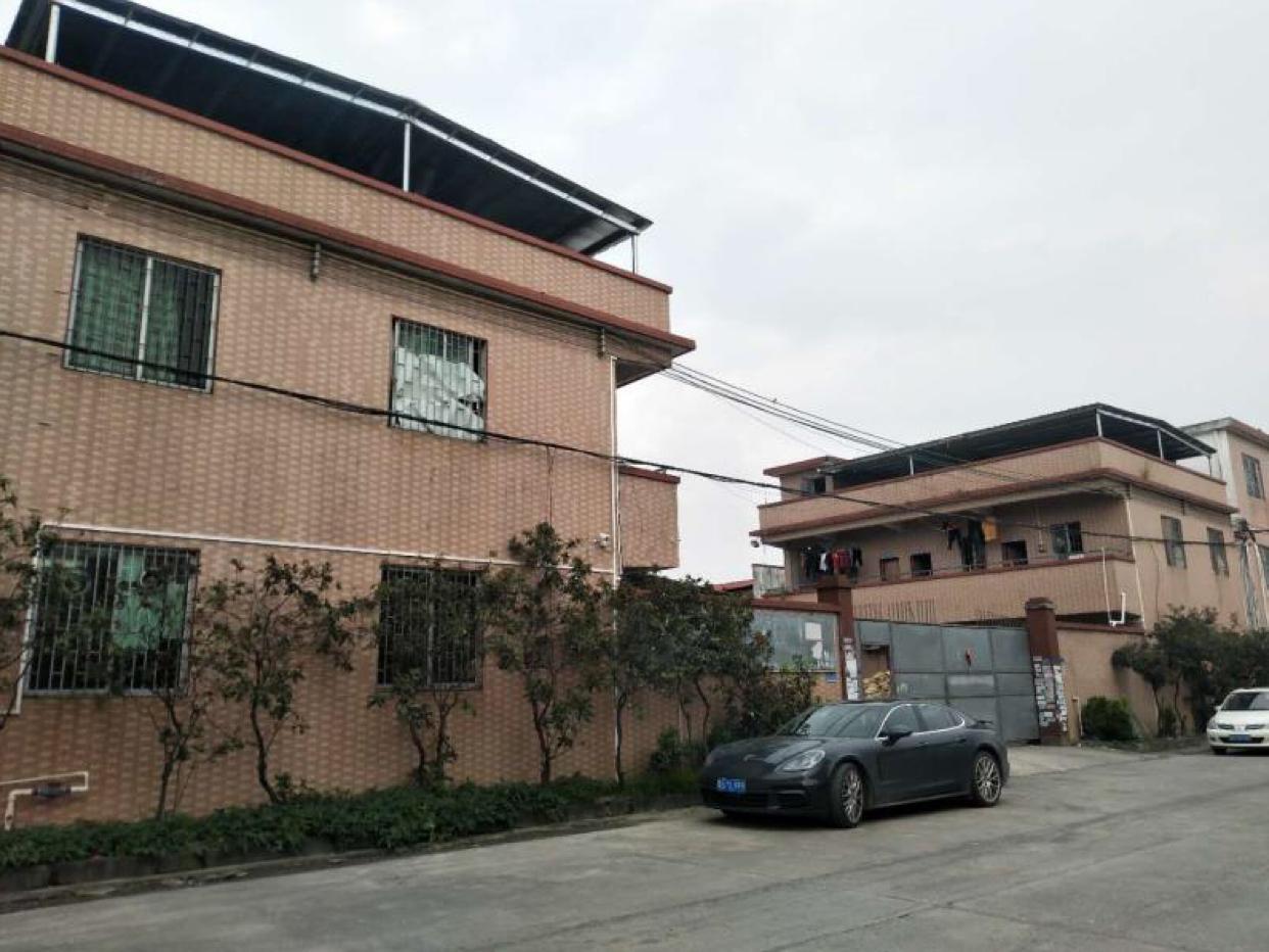 园洲占地3828m²,建筑2500m²村委厂房转让