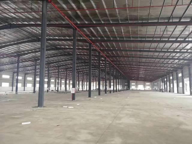龙岗新出独院钢构厂房8900平高度9米低价出租