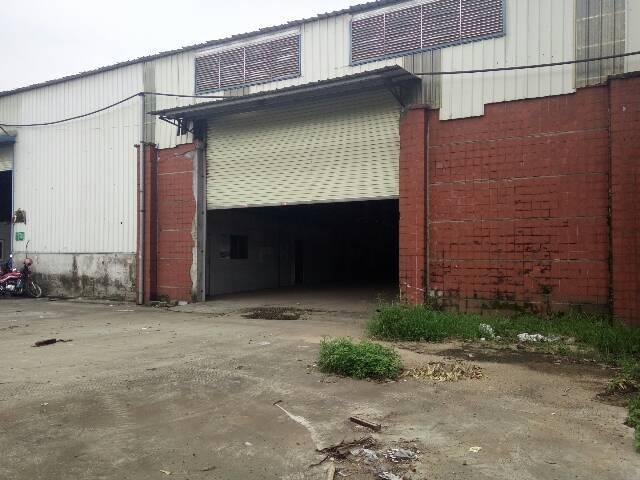 南沙简易1300平厂房仓库出租,大路边,带行车