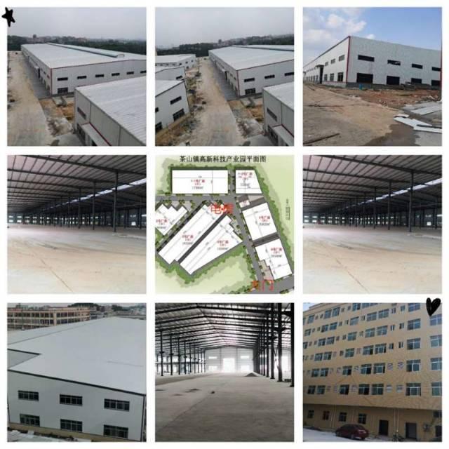 新科技产业园10万平方高标准超大钢结构厂房