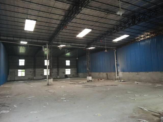 惠州仲恺高新区沥林新单一层钢构厂房独院分租,厂房面积600平