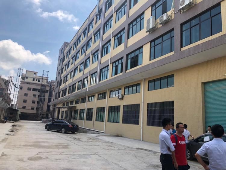 惠州沙田独栋厂房4楼3600平,有红本证件齐全,空地超大