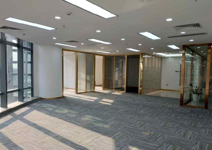 宝安中心区,国际西岸商务大厦 225m² 采光好 带隔间图片2