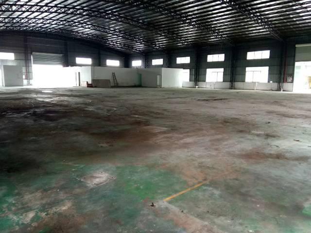 高埗独院4000㎡单一层仓库滴水10米10吨航吊空地3000