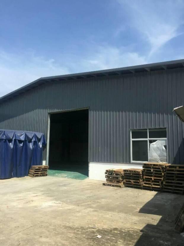 新出小独院钢构厂房2100平,滴水6米