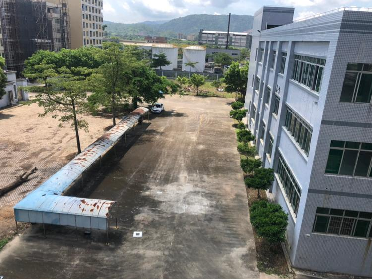 惠阳沙田原房东独院厂房4楼3860平有红本证件齐全,空地超大