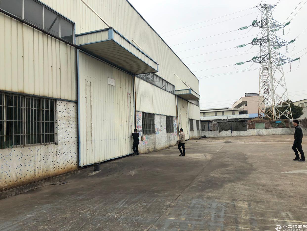 厚街镇桥头村第一工业区新出原房东仓库出租,空地大